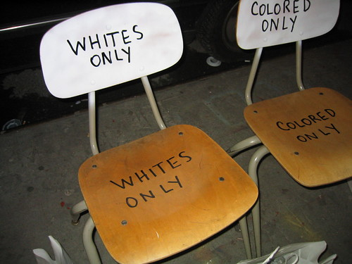whites only colored only | by arievergreen