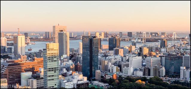 Tokyo Bay/Rainbow Bridge Panorama