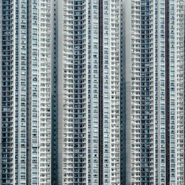 等我都Michael Wolf一下先。Hong Kong Buildings. #building #hk #Hon