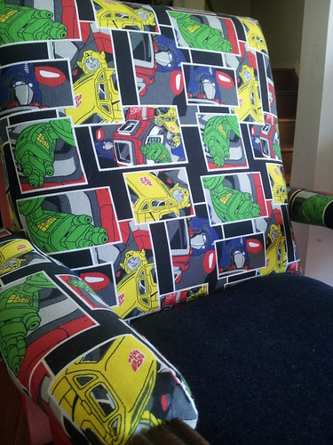 Upholstery,  after pic, Transformers