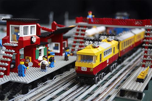 montdidier france expo lego lego show city train flickr. Black Bedroom Furniture Sets. Home Design Ideas
