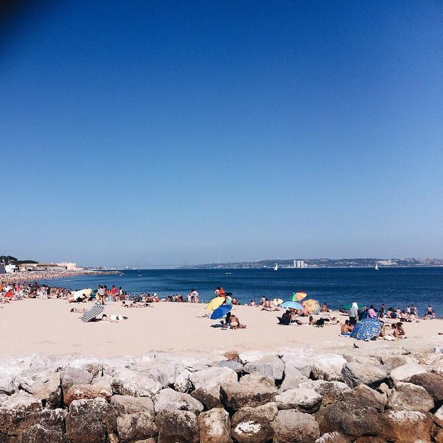 Praia em Oeiras
