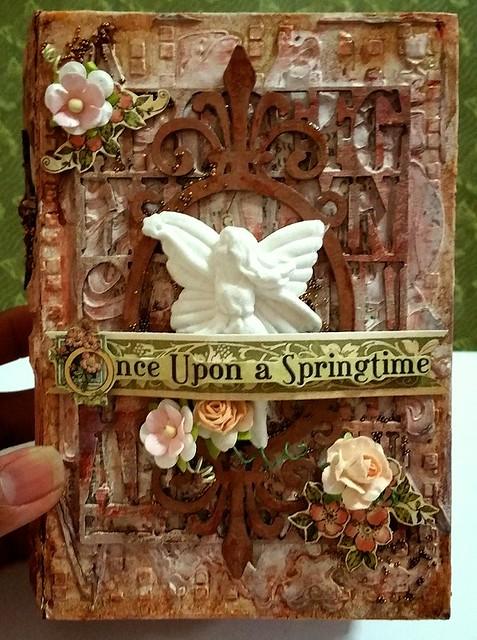 """""""Once Upon A Springtime"""" Fairy Box & Album"""
