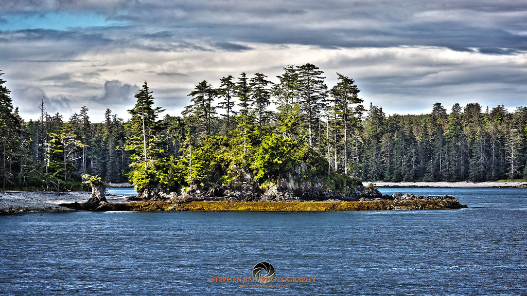 Island of trees view from west coast fishing club 39 s for West coast fishing club