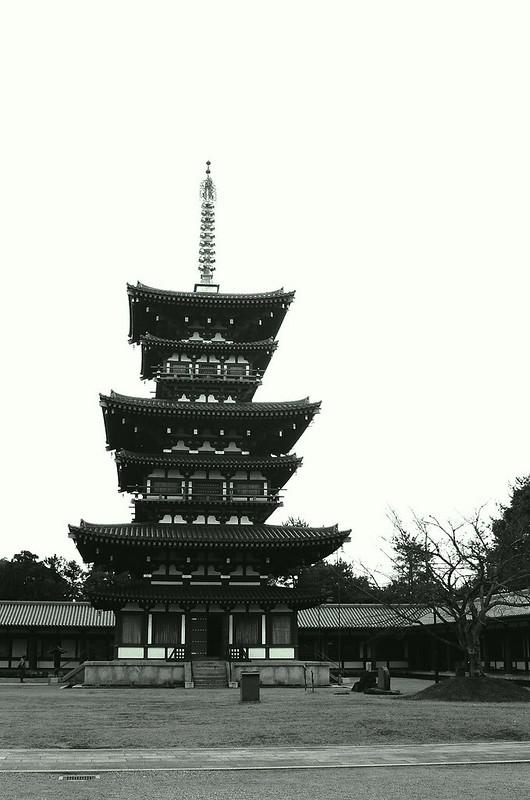 The western Pagoda of Yakushiji Temple