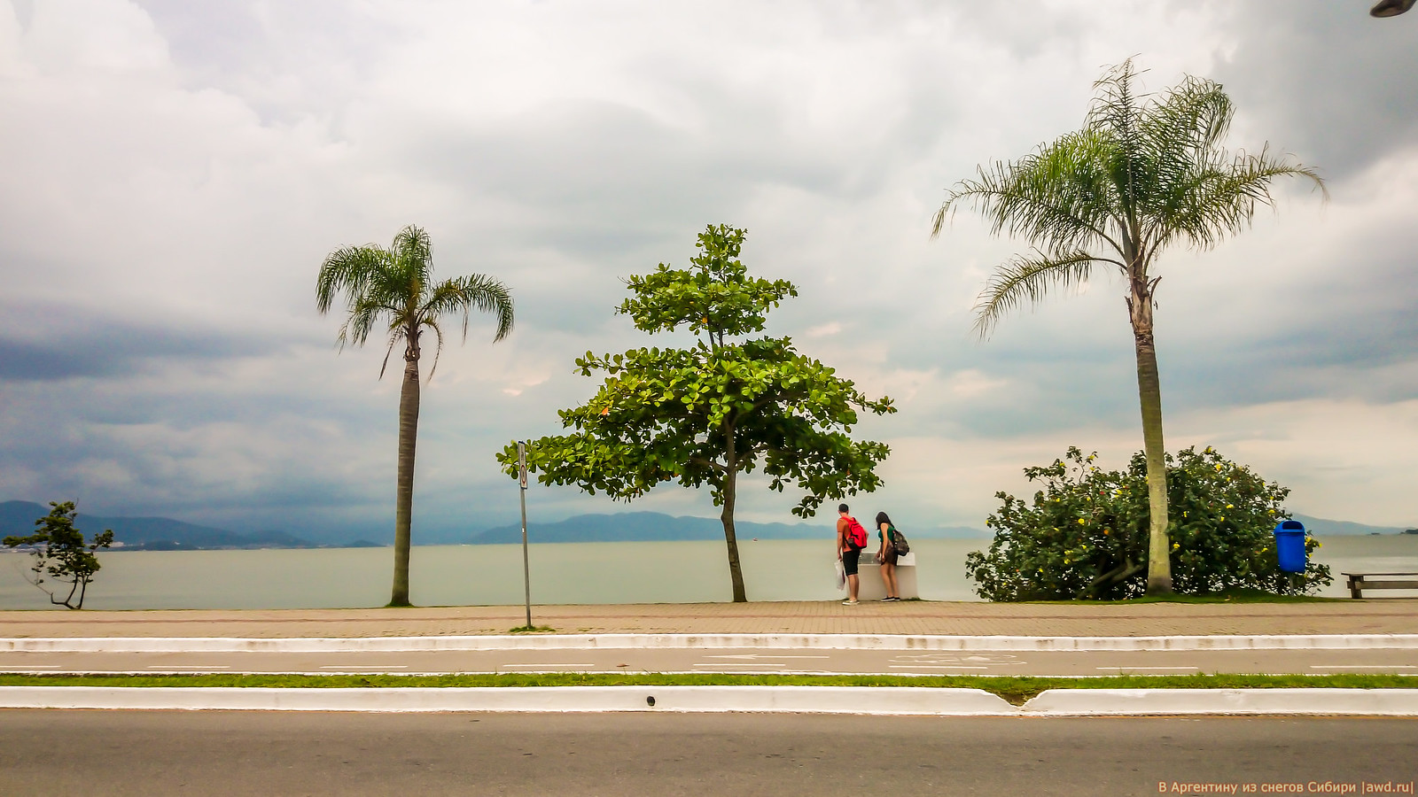 Здравствуй Жо.. Жо.. Жоакина Новый Год. (Бразилия, Флорианополис)