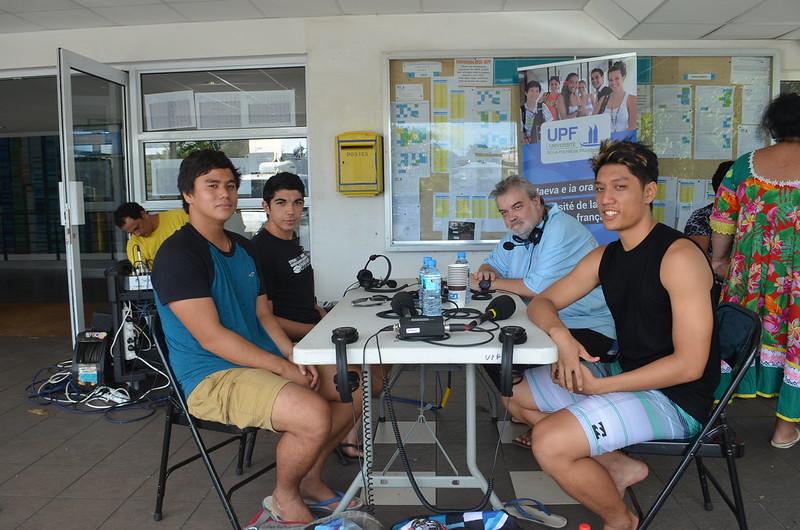 Emission Taurea Time de Polynésie 1ère radio du 25 janvier 2017 diffusée en direct de l'UPF
