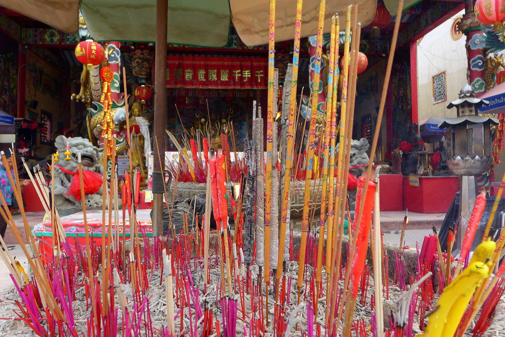 Thaïlande - Ayutthaya - 136 - Wat Phanan Choeng