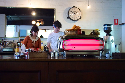 Flat White Coffee and Brunch in Melbourne: Captains of Industry (Level 1, 2 Somerset Place)