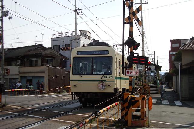 2015/06 叡山電車×きんいろモザイク ラッピング車両 #29