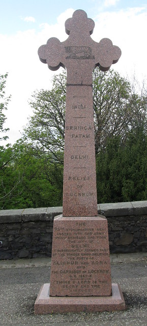 Indian Mutiny Memorial, Stirling Castle Esplanade