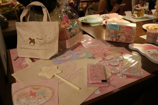 キキ&ララ♥マイメロディ 40th anniversary cafe