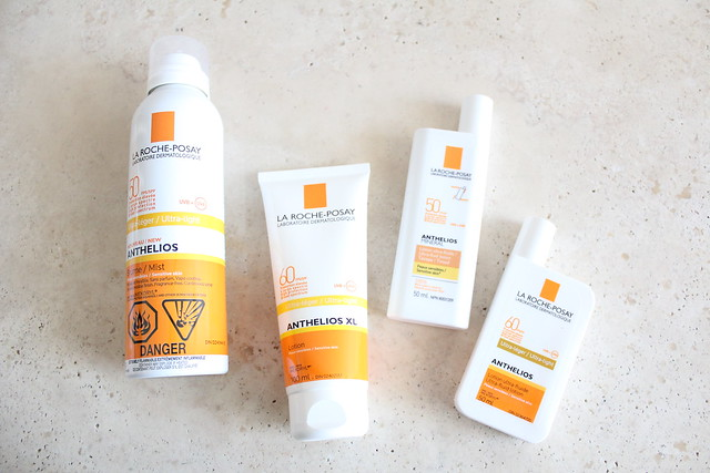 la roche posay Anthelios sunscreen