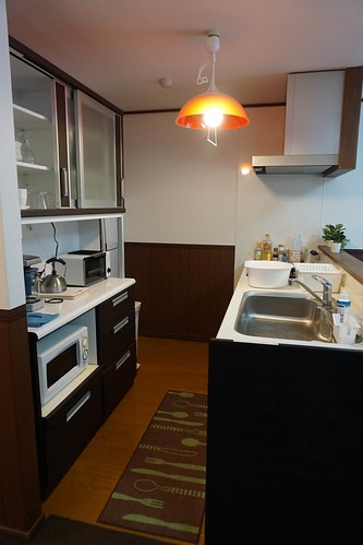 Small efficient kitchen