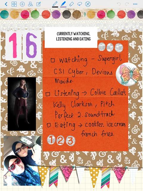 LIST 16 - JUNE 2015