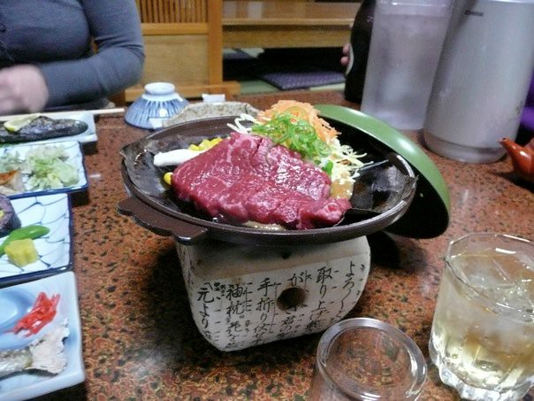 Dinner at Fujioto ryokan