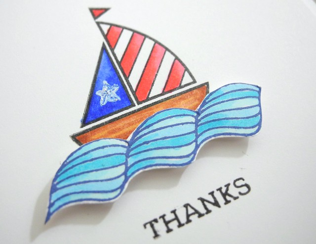 Thanks by Jennifer Ingle #JustJingle #SimonSaysStamp #cards #patriotic