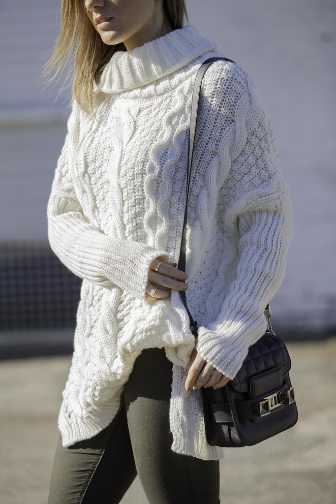 White Winter Chunky Knit