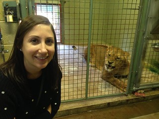 Jess with the Lioness