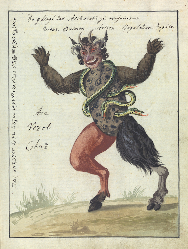 Compendium Of Demonology and Magic (ca  1775) – The Public