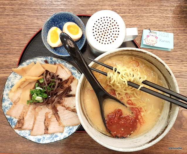 Toroniku Ramen at Moji Japanese Eatery