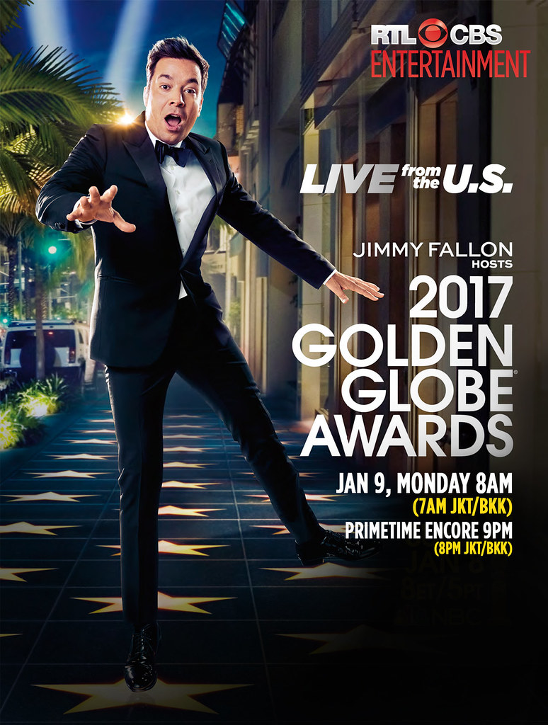 Jimmy Fallon To Host 74Th Annual Golden Globe® Awards