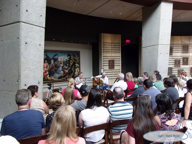 2013-With Charlie Cushman at the Country Music Hall of Fame