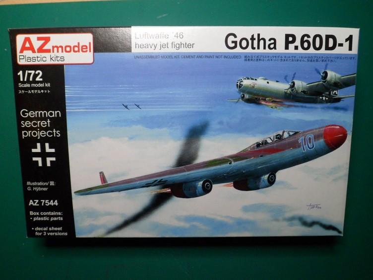 Pas-à-pas : Gotha P.60 D-1 [AZmodel 1/72] 32013853460_6c585c7340_b
