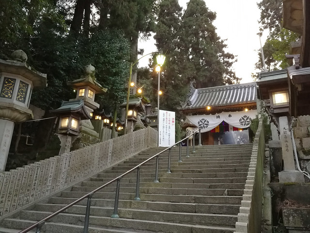 Hozanji Temple. Looked tranquil doesn't it?