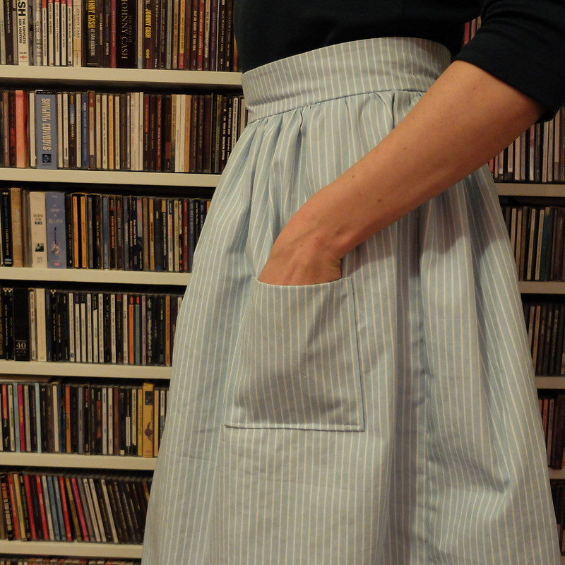 Clemence skirt Love at First Stitch