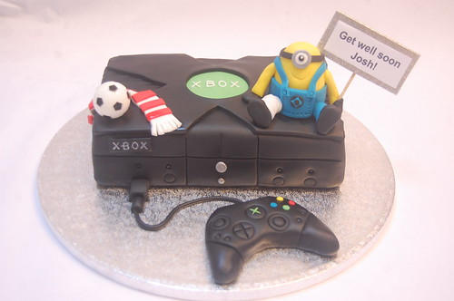 This Was Designed To Cheer Up An Xbox And Liverpool Loving Schoolboy The Mini Cake From 65