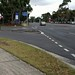 Pedestrian crossing on Ferntree Gully Road