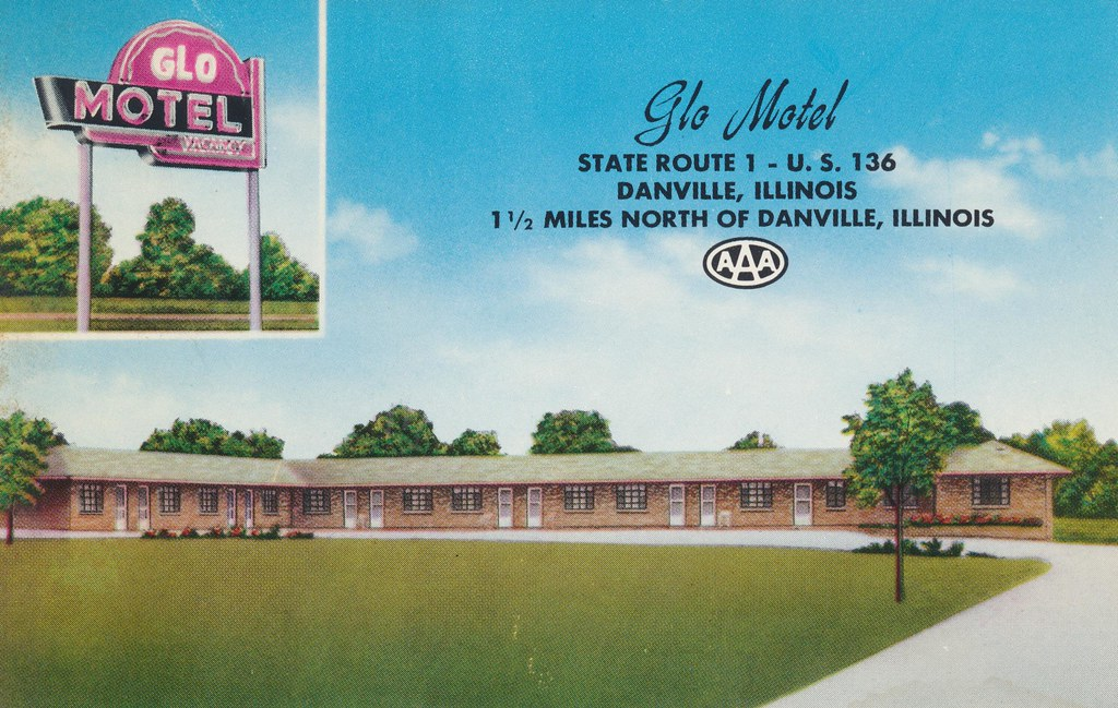 Glo Motel - Danville, Illinois