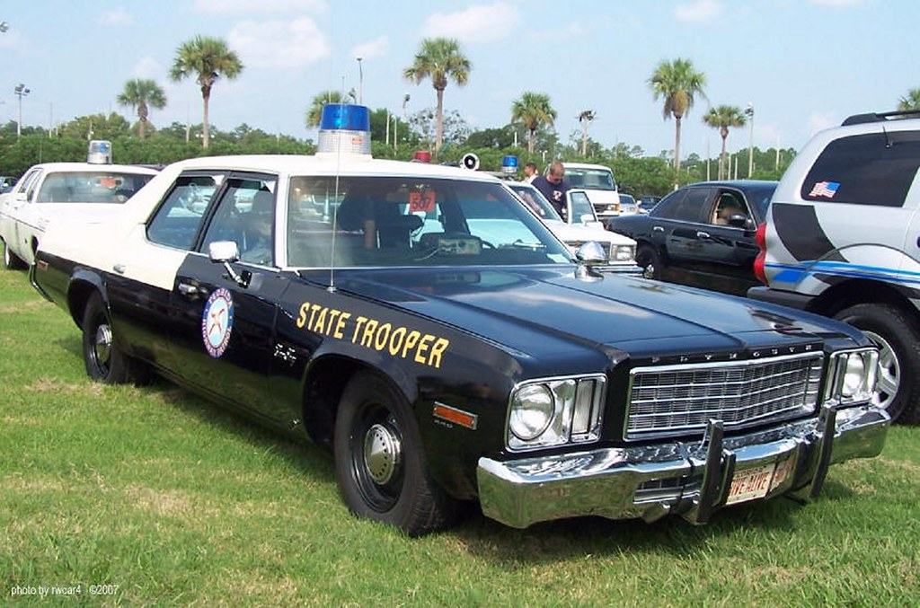 Florida Highway Patrol - 1974 Plymouth Gran Fury restored | Flickr
