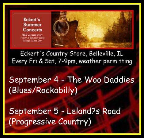 Eckert's Summer Concerts 9-4, 9-5-15