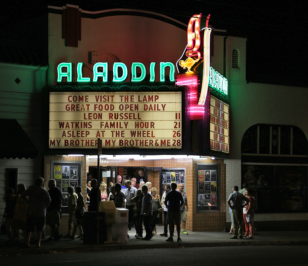 ... Aladdin Theater   Portland, OR | By Vintage Roadside