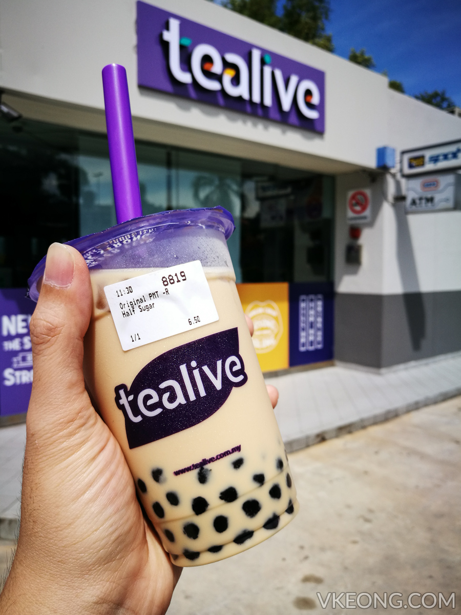 tealive original bubble milk tea