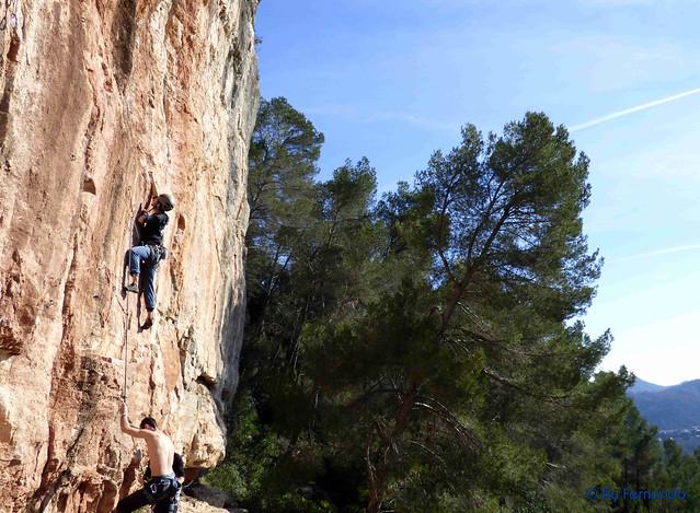 Conrad - De Cap Al Ninxol, 7a -02- Can Paulet, Sector la Repisa (29-01-2017)