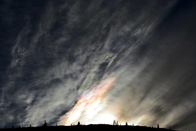 VCSE - Mai kép - Irizáló felhő