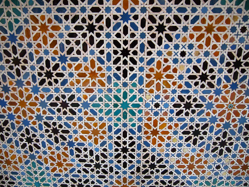 Tiles in the Royal Alcázar of Seville