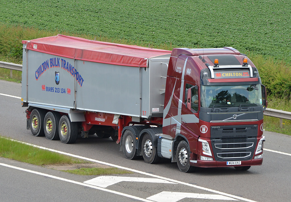 Chilton Bulk Transport WU14ERZ | M5 Strensham 23/06/2015 | Flickr