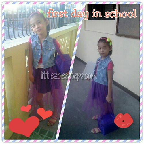 1st day 2nd grade
