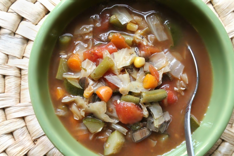 Very Veggie Soup (104 calories)
