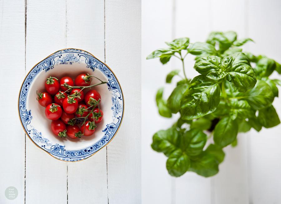 Vegan italian style salad