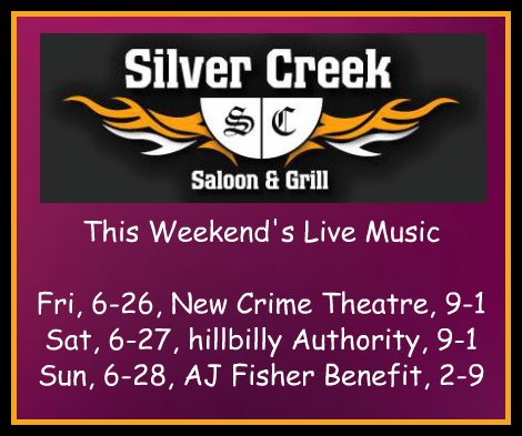Silver Creek 6-26 thru 6-28-15