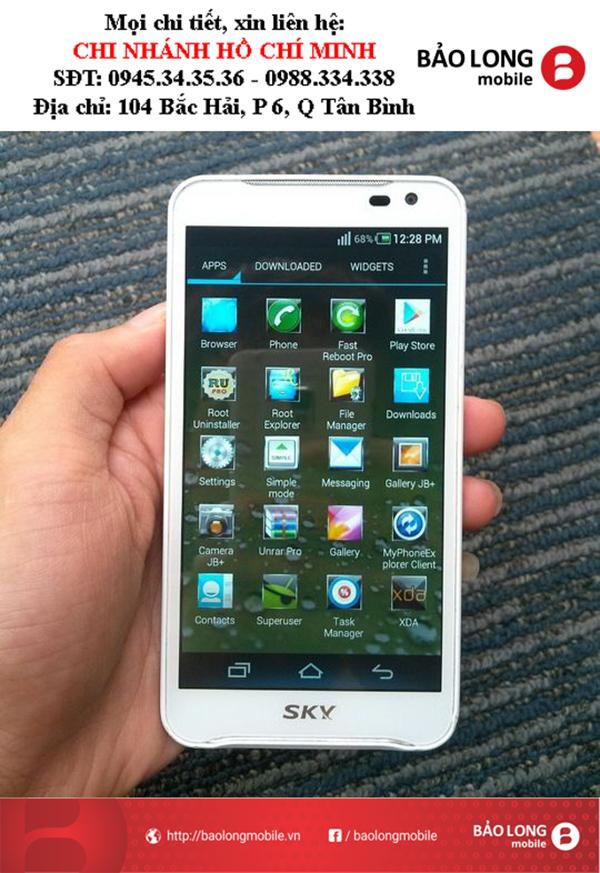 Các nguyên nhân mà người dùng ở SG chọn mua smartphone Sky A830 để sử dụng