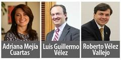 Trayectoria y propuestas de los tres aspirantes a ocupar el cargo de Gerente General de la FNC