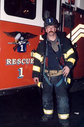 Firefighter David Weiss, Rescue 1 | Firefighter David ...