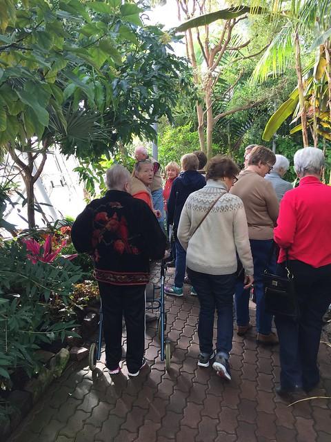 Senior Day at the Gardens January 2017