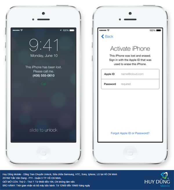 Tìm về các phương pháp kiểm tra iPhone, iPad bị khóa iCloud khi mua bán máy ở trong SG